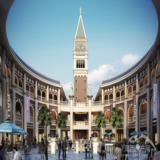 意大利广场透视图