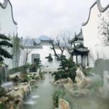 中式别院园林实景